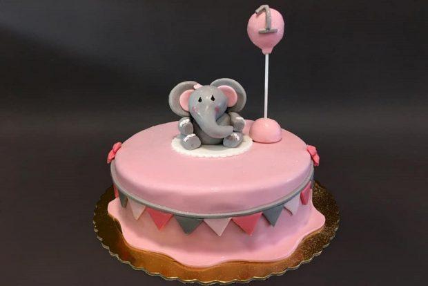 Birthday cake elephant