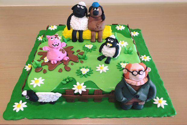 Birthday cake family