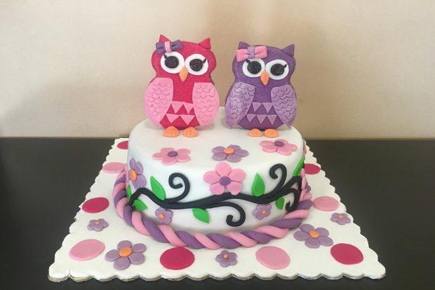 Birthday cake koukouvagia