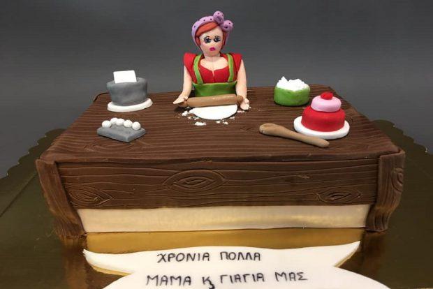Birthday cake mother