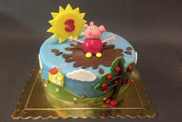 Birthday cake pepa2