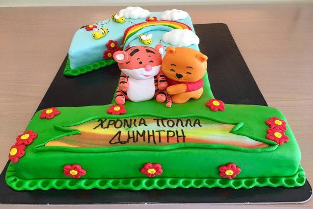 Birthday cake rainbow