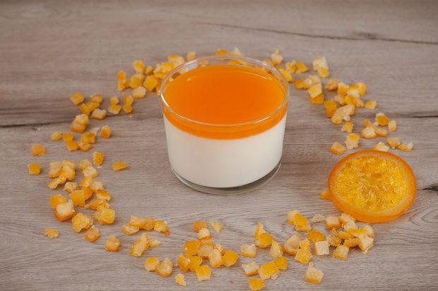 Panna cotta orange (Luxury)