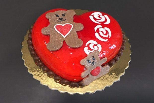 Valentine's Day Cake-16